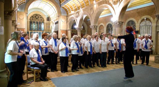 Rising Voices Wessex choir