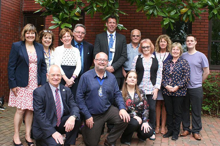 East Dorset District Council Chairman