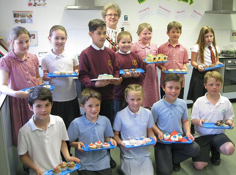Verwood schools bake off