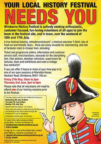 Wimborne History Festival flyer