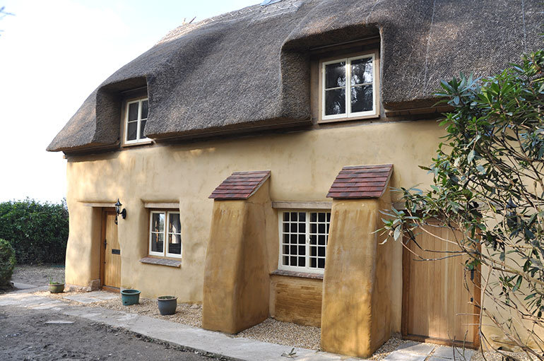 Cherry tree cottage at Woodgreen, winner of the individual building category in the 2015 New Forest Building Design Awards