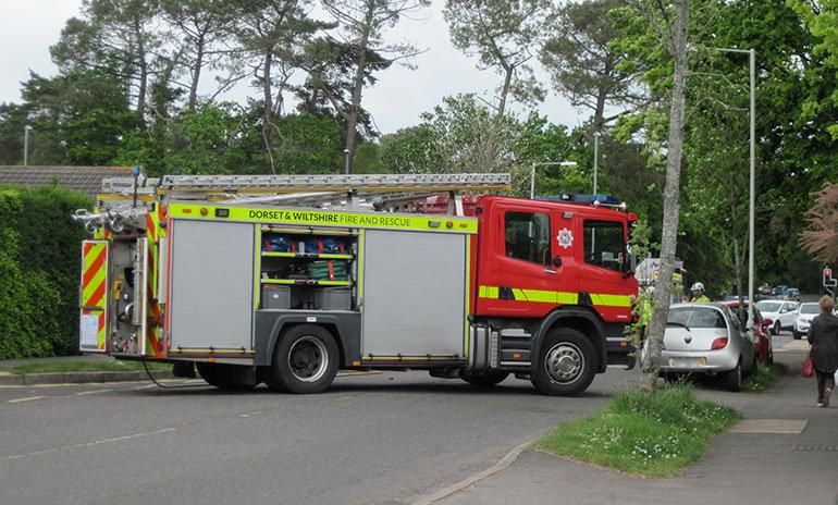 Victoria Road Ferndown accident