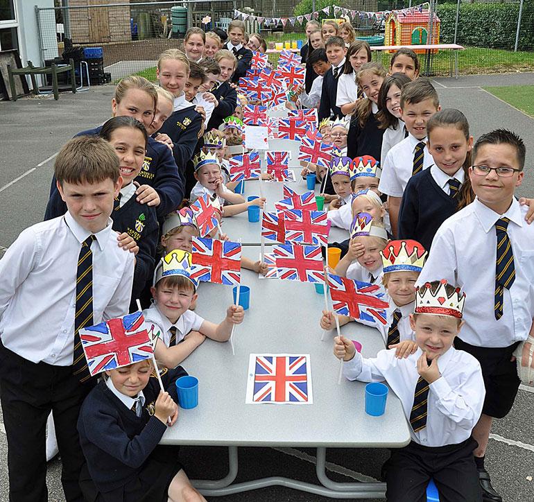 Year 6 children at Manorside Academy