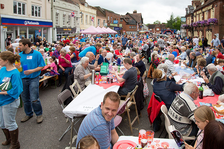 Ringwood street party
