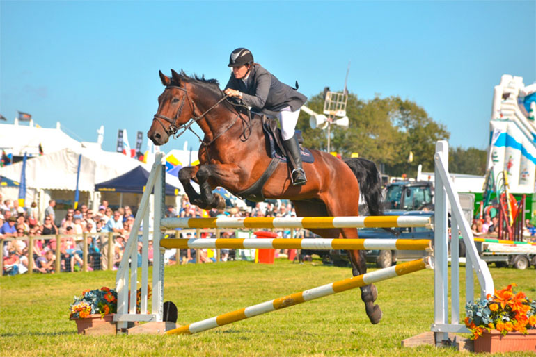 Dorset County Show show jumping