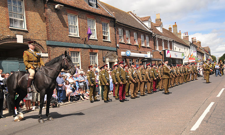 Armed Forces to parade through Purbeck