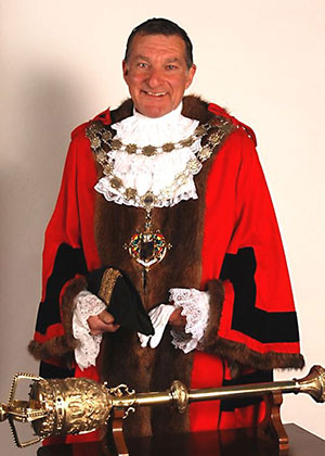 Bournemouth Mayor in Robes