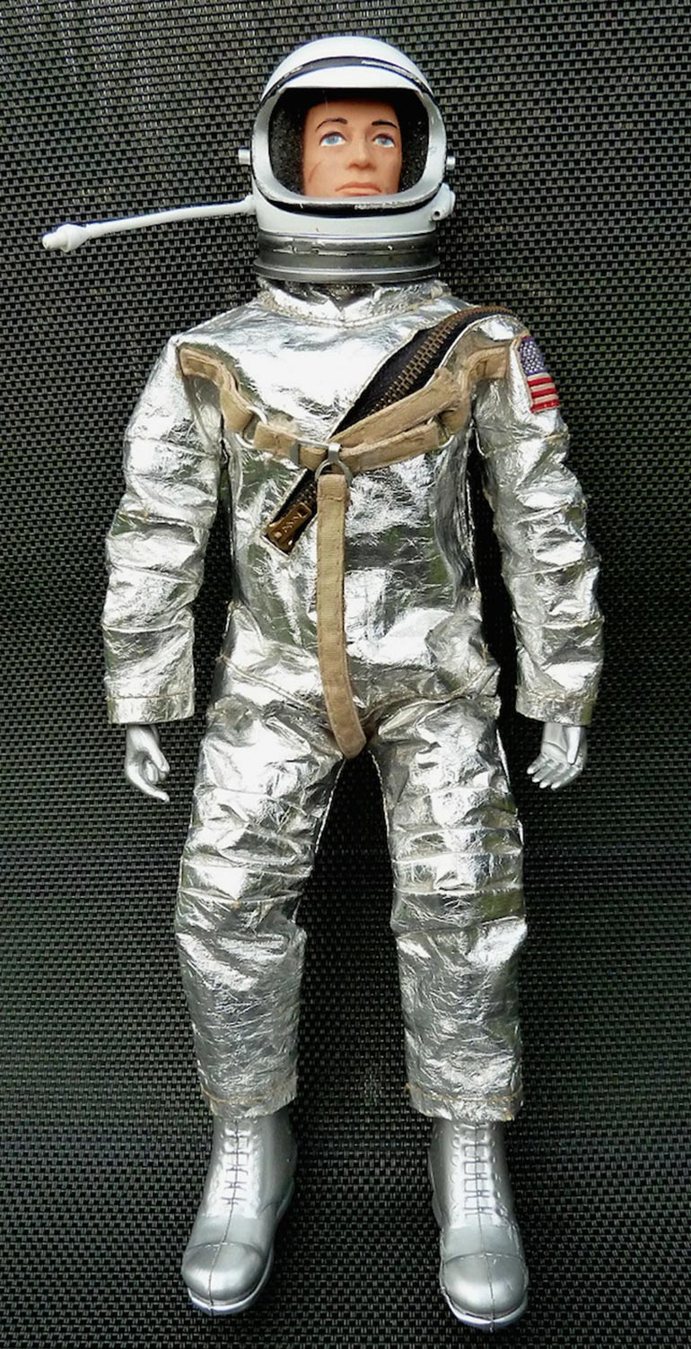 Action Man's journey into Space