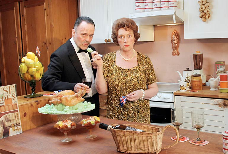 Fanny and Johnnie Cradock