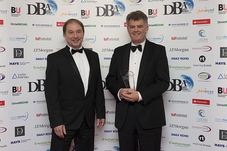 Nick Love of Princecroft Willis and Richard Hunt of Hunt's Foodservice Ltd