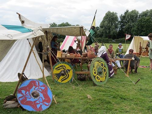Wimborne History Festival - Viking Encampment