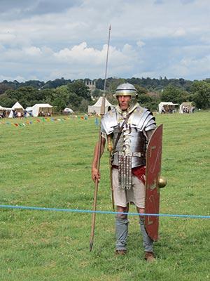Wimborne History Festival - Legio Secunda Augusta