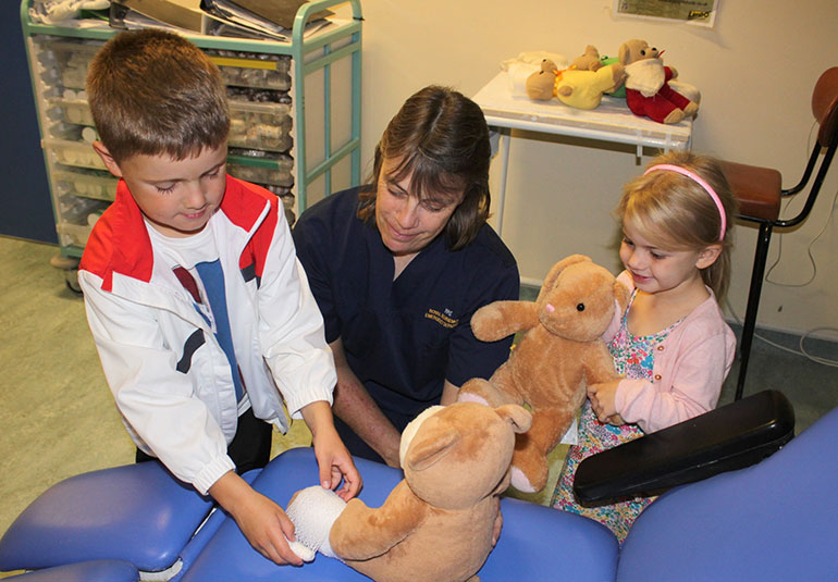 RBCH's teddy bear clinic