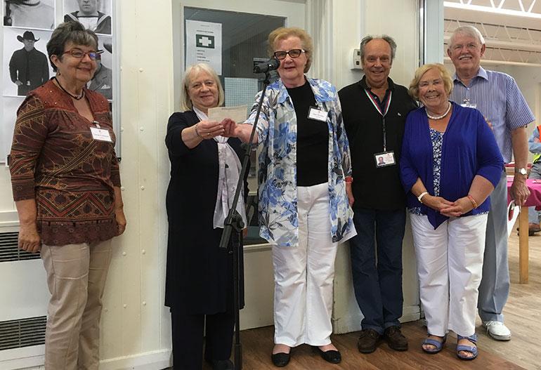 Tarrant Valley Players support Ferndown Arthritis Care