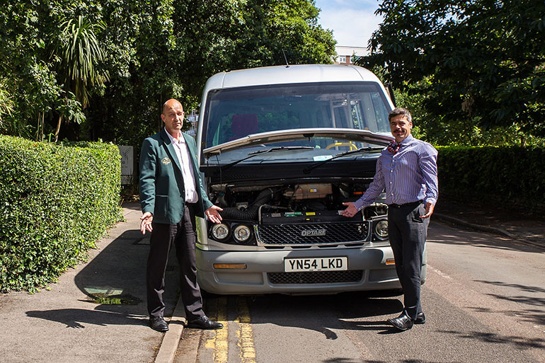 A new minibus is needed to help cancer patients