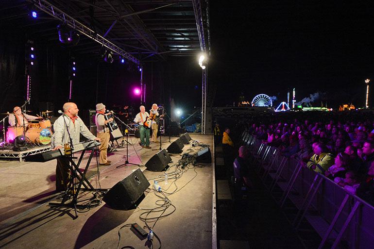 Great Dorset Steam Fair Outdoor Concert Stage