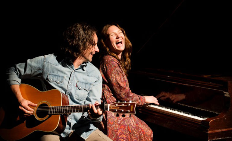 Bill Lennon as James Taylor and Emily Jollands as Carole King