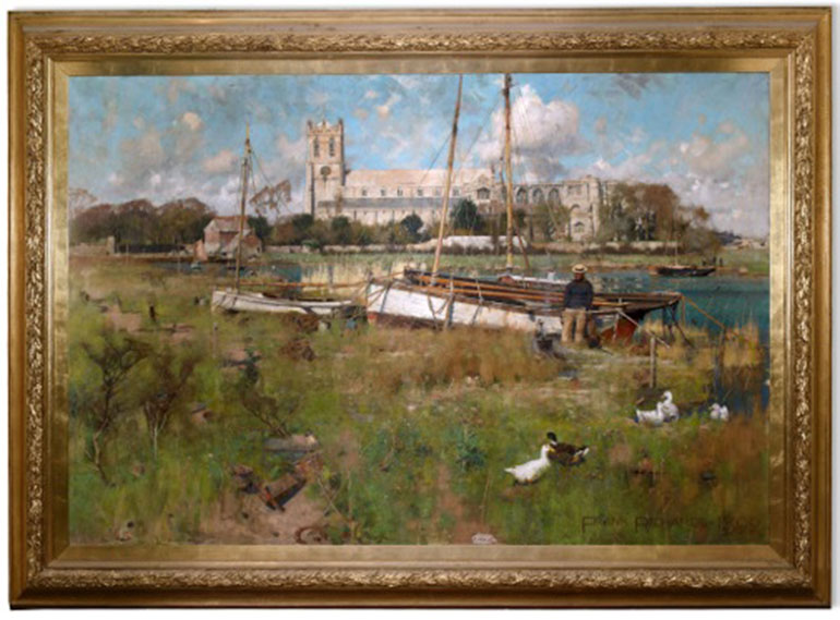 Masterpiece shown at Highcliffe Castle
