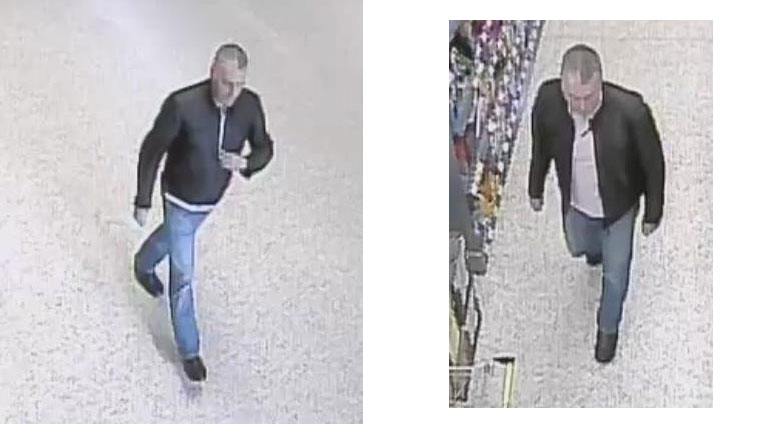 CCTV images of the suspect
