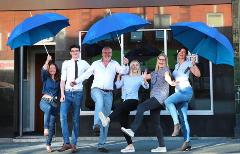 Ellis Jones Solicitors take part in Jeans for Genes Day