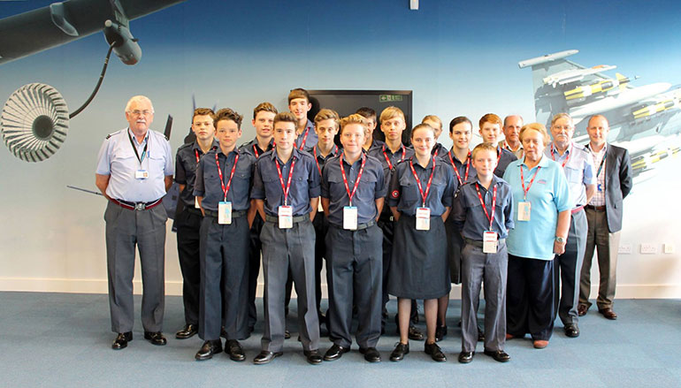 The Royal Air Force (RAF) Air Cadets 1069 Flight Refuelling Wimborne Squadron
