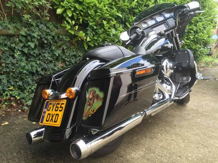 Harley Davidson motorcycle stolen near Wareham