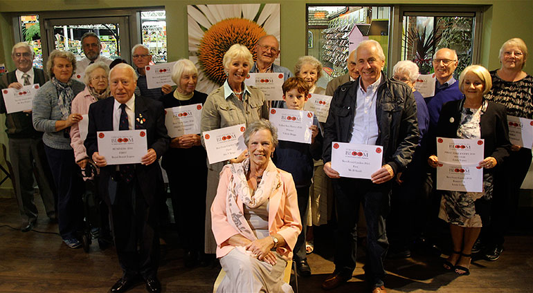 Ferndown In Bloom prizewinners