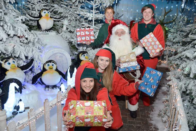 Stewarts Garden Centre ready for Christmas