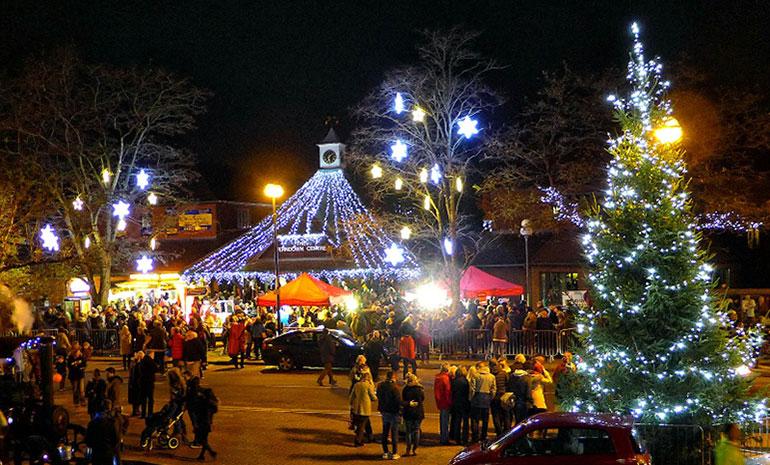Ferndown Christmas lights
