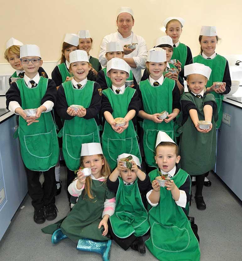 Manorside Academy pupils