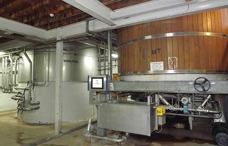 Ringwood Brewery mixing chambers