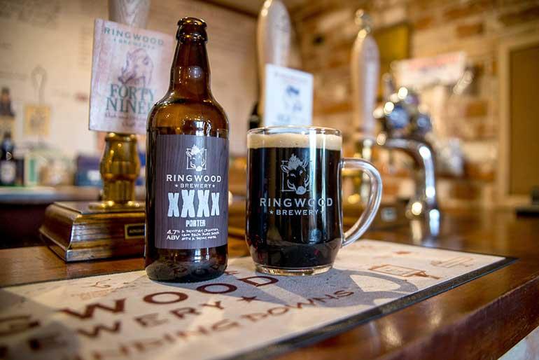 Ringwood Brewery XXXX Porter