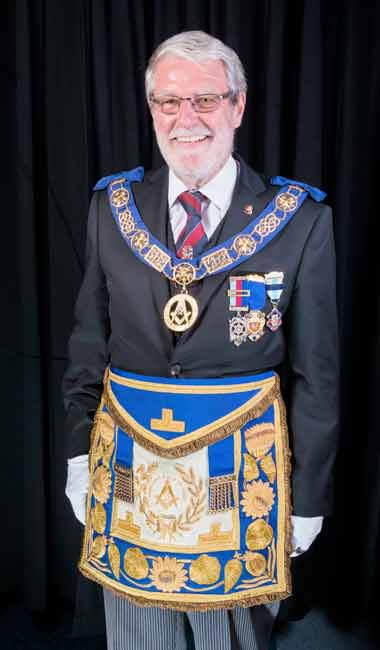 Mike Wilks, Provincial grand Master of Hampshire and Isle of Wight Freemasons