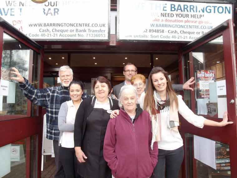 The Barrington Centre Reopens