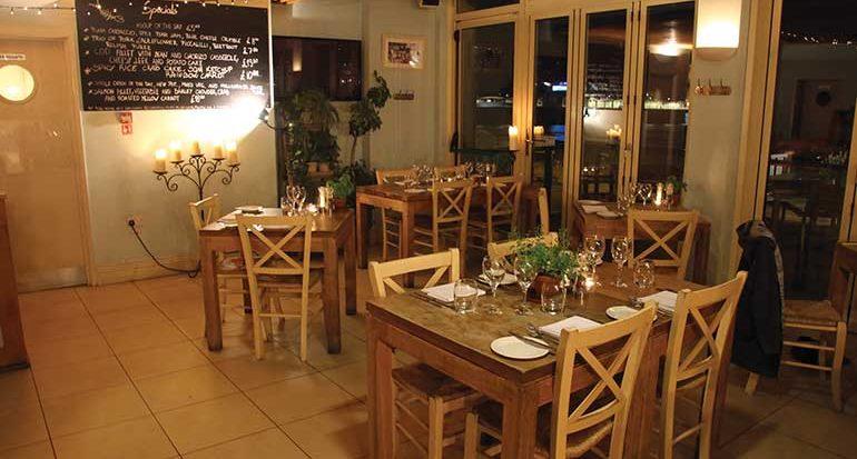 West Beach restaurant interior