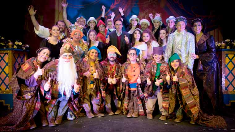 Dorset-raised actor Guy Henry attended a performance of Snow White and the Seven Dwarfs
