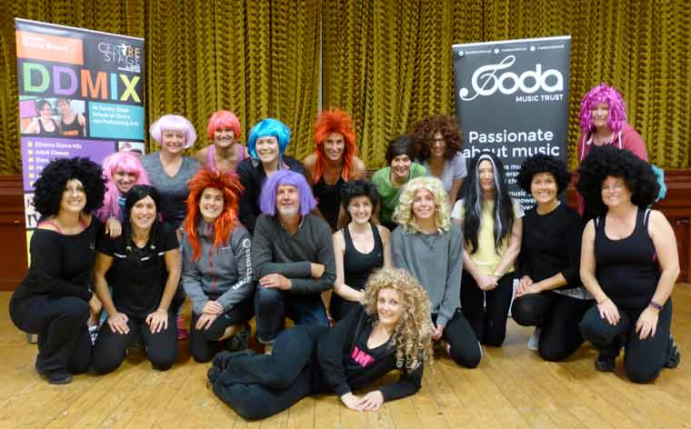 Centre Stage School of Dance and Performing Arts has so far raised £486 for its chosen charity