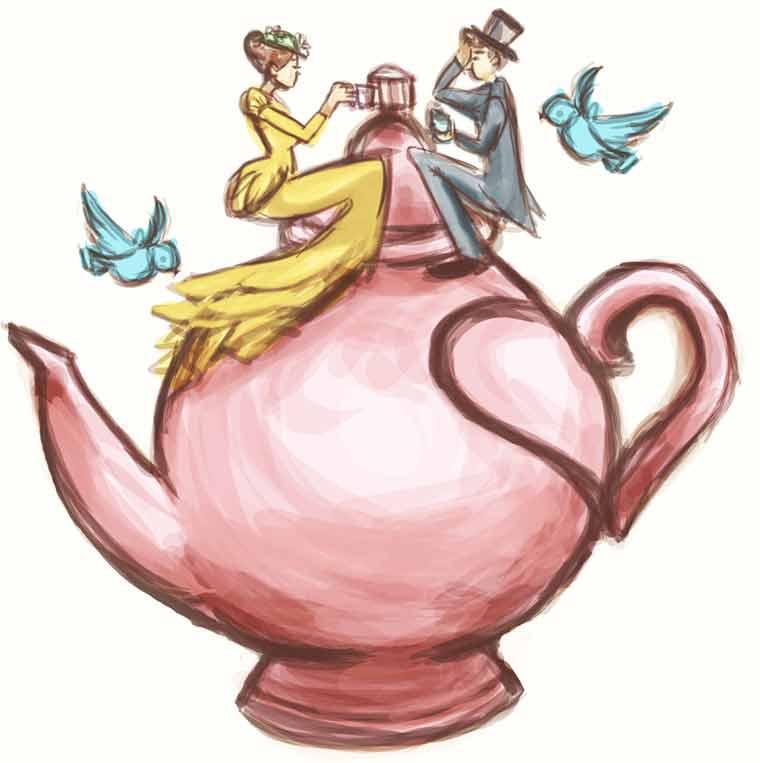 Tea Hearts Afternoon Tea Event