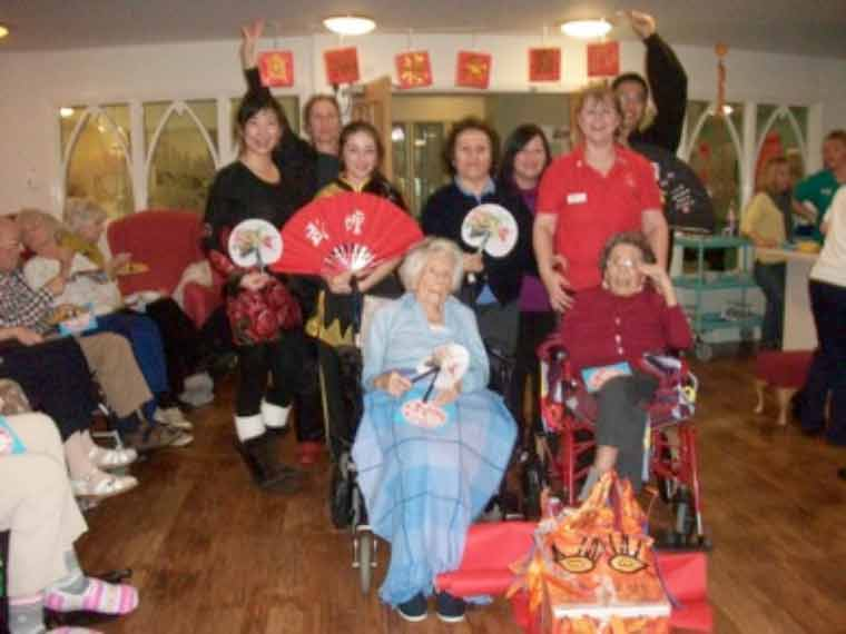 The Year of the Rooster at Dorset Dementia care home