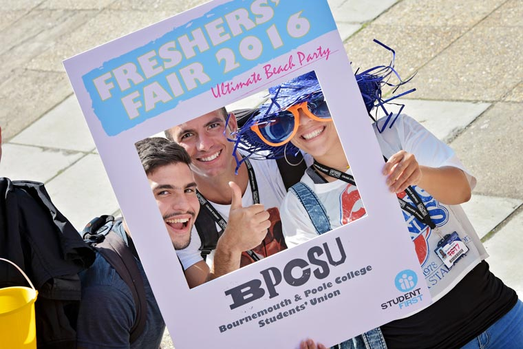 Bournemouth & Poole College Freshers Fair 2016