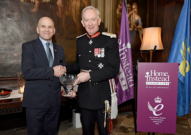 Home Instead awarded Queens Award for Enterprise: Innovation.