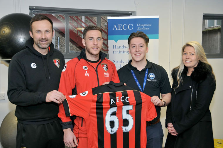 AECC is the Cherries official performance and rehabilitation supporter