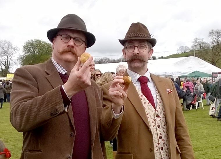 Dorset Knob Throwing Festival moves