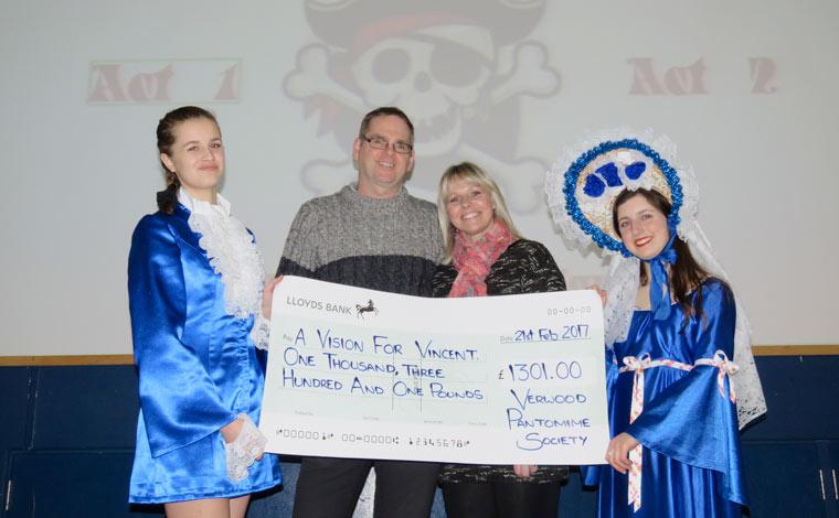 Generous panto watchers donate extraordinary sum for local charity