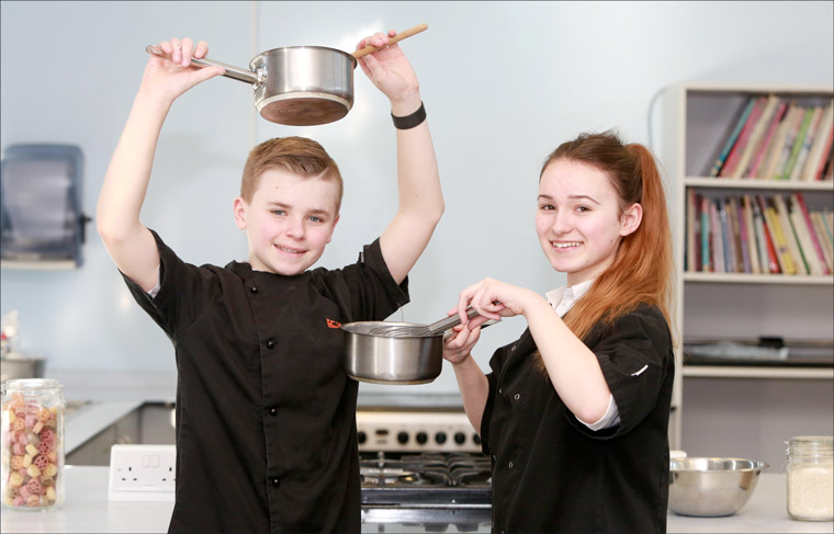 Oak Academy's Kian Johnson crowned Bournemouth and Poole Young Rotary Chef