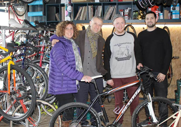 A new partnership between Dorset HealthCare and Velo Domestique