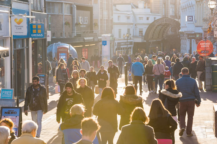 Bournemouth bucks the trend for high street shopping