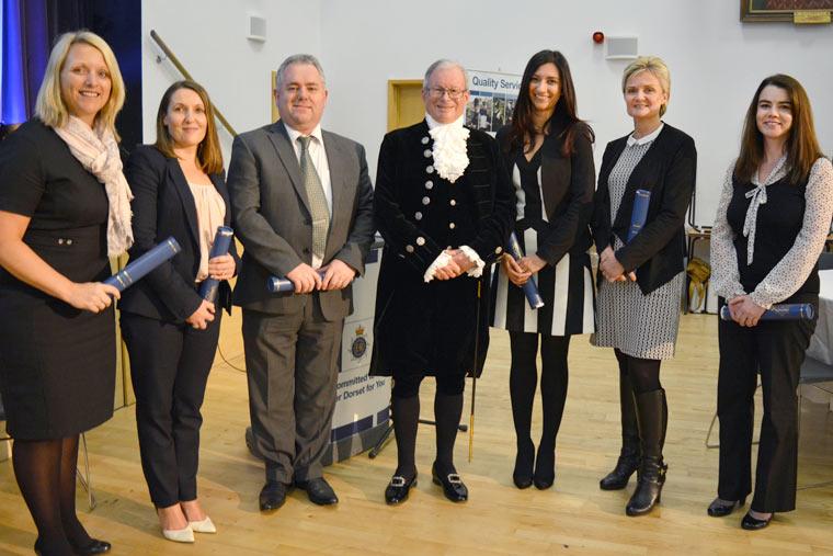 Dorset Police awards ceremony