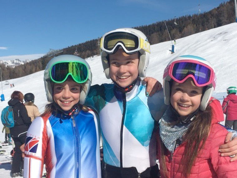 Stocker sisters each scoop gold medals in British Independent Ski Racing Championships