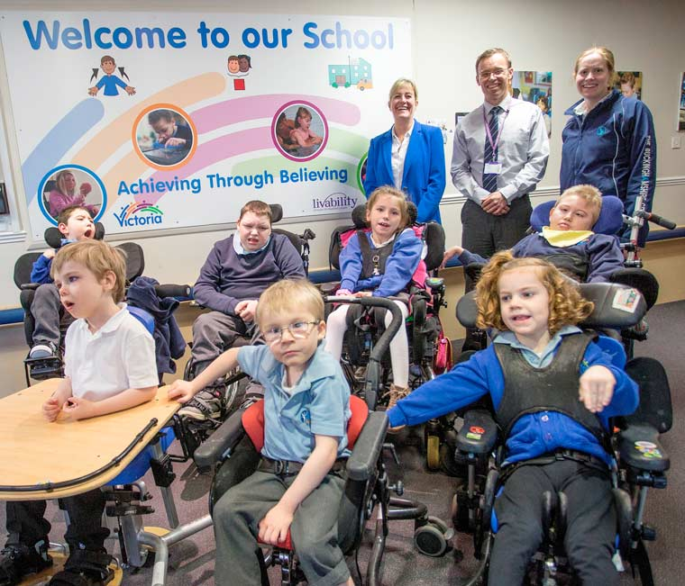 Victoria Education Centre adopted as eLearning For You's charity of the year